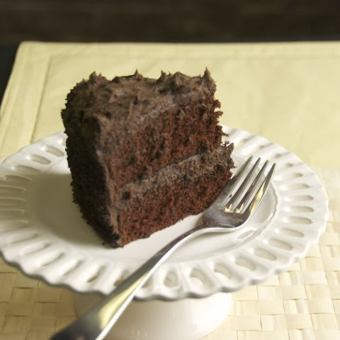 Capitol Grade Dark Chocolate Cake