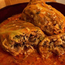 Cabbage Rolls With Beef