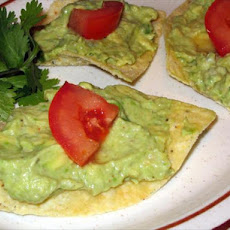 Avocado Tortilla Chip Rounds