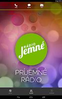 Screenshot of Radio Jemne