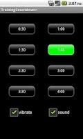 Screenshot of Training Countdown+