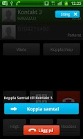 Screenshot of Telenor Koppla Samtal