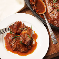 Beer-Braised Bison Pot Roast