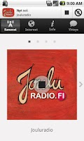 Screenshot of Jouluradio