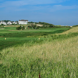 New Seabury Golf & CC by Sandy Friedkin - Sports & Fitness Golf ( course, new seabury, golf, ma., country club, summertime, cape cod )
