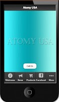 Screenshot of Atomy US