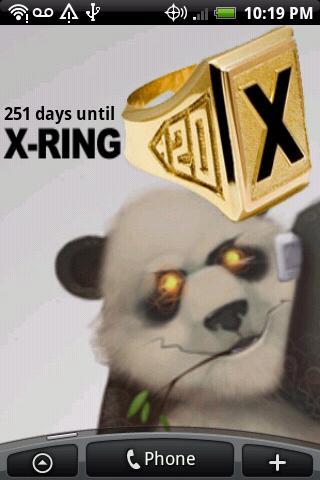 X-Ring Countdown
