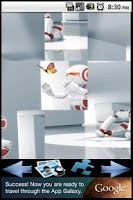 Screenshot of Robots puzzle