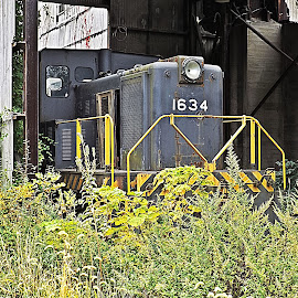 Engine 1634 by Scott Strausser - Novices Only Objects & Still Life ( engine, railroad, train, transportation, object )