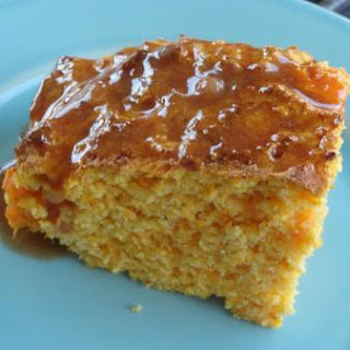 Sweet Potato Corn Bread with Cinnamon Honey Butter