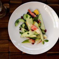 Crab, Apple & Pomegranate Salad