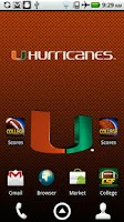 Screenshot of Miami Canes Live Wallpaper HD