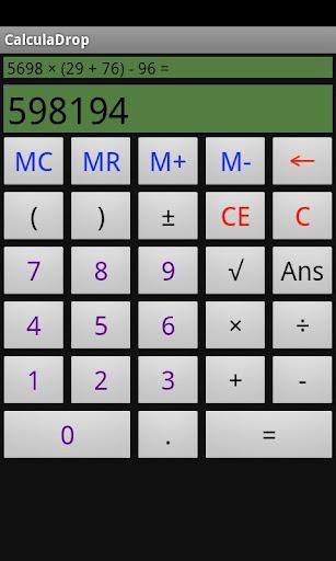 CalculaDrop