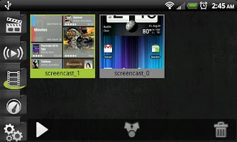 Screenshot of Screencast Video Recorder