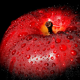 Red by Troy Wheatley - Food & Drink Fruits & Vegetables ( fruit, cold, apple, wet )