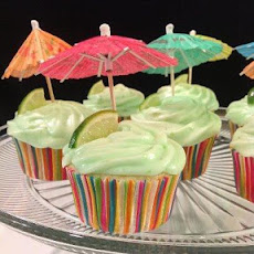 Margarita Cupcakes With Key Lime Icing