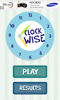 Screenshot of Clockwise - learn the clock :)