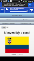 Screenshot of Colombia Guide