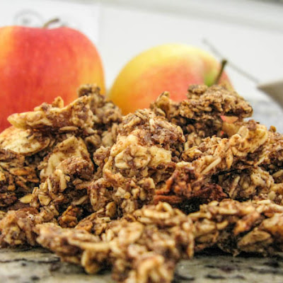 Vegan Apple Cinnamon Granola