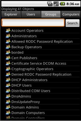 【免費商業App】ActiveDir Manager-APP點子