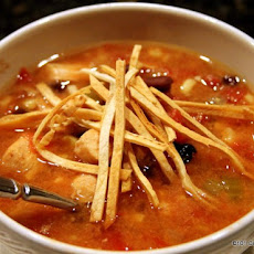 Crock Pot Chicken Tortilla Soup
