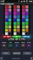 Screenshot of LEDs U CTRL