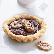 Chocolate-Banana Tarts