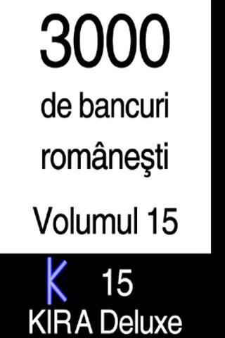 BANCURI 3000 - volumul 15