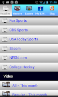 Screenshot of Hockey Center 2014