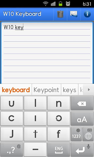 W10 Keyboard PRO-Spanish
