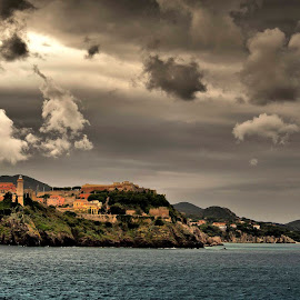 portoferraio elba by Constantin Gabriel Bogdan - City,  Street & Park  Historic Districts (  )