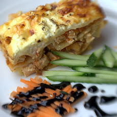 Lemon Chicken Lasagna