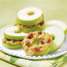 Apple ''bagel'' Snacks