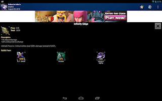 Screenshot of MobaDroid  League of Legends