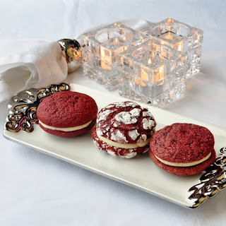 Red Velvet Cream Cheese Cookies
