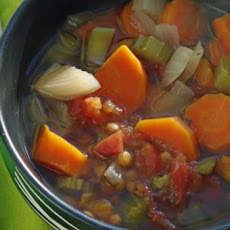 Lentil-Veggie Soup (Crock Pot)