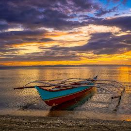 The Wait by Karen Lee - Transportation Boats