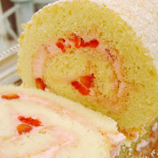 Strawberry Cream Roll