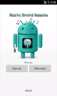 Music Droid Remote - screenshot