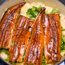 Unagi Kamameshi (iron pot rice with eel)