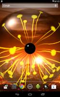 Screenshot of Plasma Orb Free Live Wallpaper