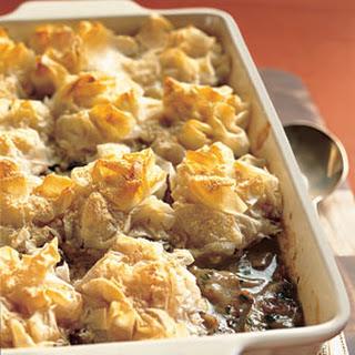 Phyllo Chicken And Mushroom Pie Recipes
