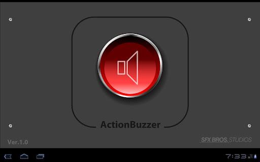 無料媒体与影片Appのアクションブザー 記事Game