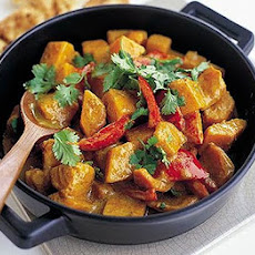 Sweet Potato & Pineapple Korma