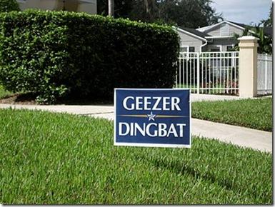 geezer dingbat