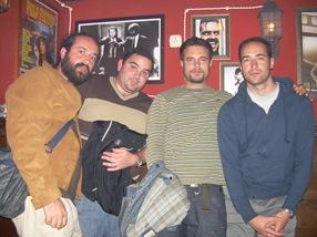 Ramón, Ángel, Juan, yo