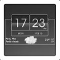 App 3D Flip Clock Theme Pack 06 version 2015 APK