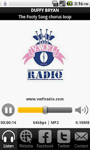 VWFL Radio - screenshot