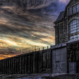 Prison by Bojan Bilas - Buildings & Architecture Other Exteriors ( building, hdr, finland, prisson, turku, architecture, wall )