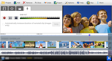 Screenshot of VideoPad Video Editor Free